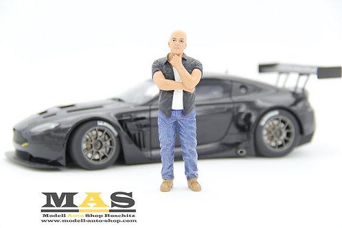 Street Racing Figur Mann American Diorama 1/18
