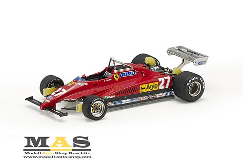 Ferrari 126 C2 P. Tambay Italien GP 1982 GP Replicas 1/18