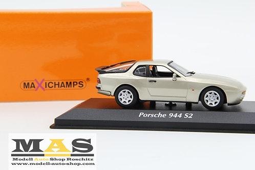 Porsche 944 S2 1989 beige Minichamps 1/43