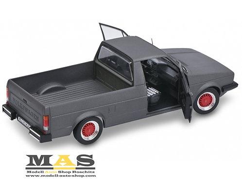 Volkswagen VW Caddy 1 Custom grau Solido 1/18