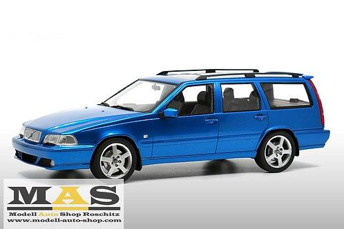 Volvo V70 R 1st Generation 1999 blau DNACollectibles 1/18