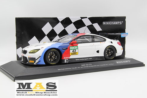 BMW M6 GT3 BMW Team Schnitzer P. Eng ADAC GT Masters 2017 Minichamps 1/18
