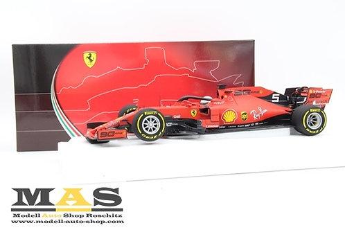 Ferrari SF90 2019 S. Vettel Australia GP BBR 1/18