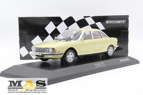NSU RO 80 1972 gelb Minichamps 1/18