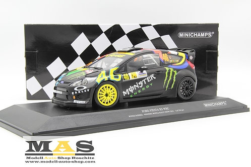 Ford Fiesta RS WRC V. Rossi VR46 Cassina Monza Rallye Show 2012 Minichamps 1/18