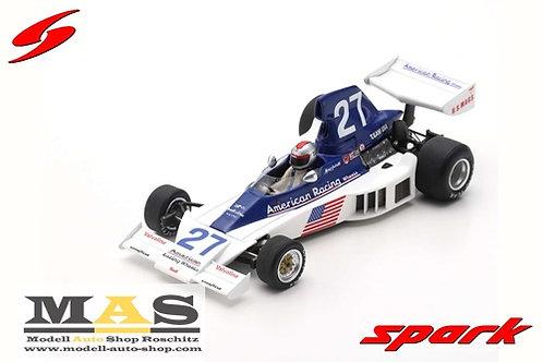 Parnelli VPJ4 M. Andretti Long Beach USA GP 1976 Spark 1/43