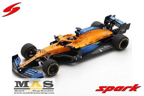 McLaren MCL35 C. Sainz 2nd Italia 2020 Spark 1/43