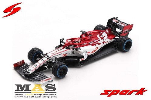 Alfa Romeo C39 K. Raikkonen Türkei GP 2020 500. Sauber Race Spark 1/43
