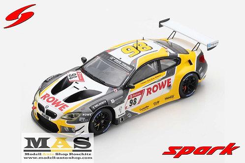 BMW M6 GT3 Rowe Racing No. 98 24h Nürburgring 2020 Spark 1/43