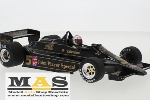 Lotus Ford 79 No.5 M. Andretti Belgien GP 1978 MCG 1/18
