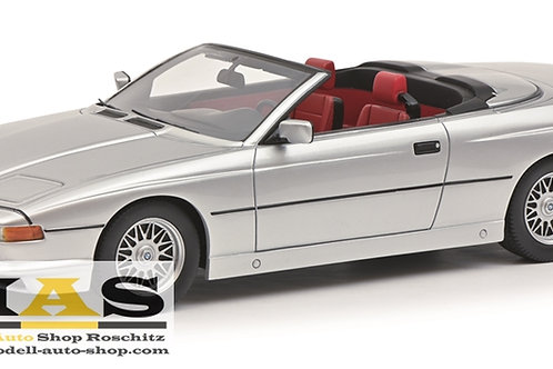 BMW 850 Ci Cabriolet silber Schuco 1/18