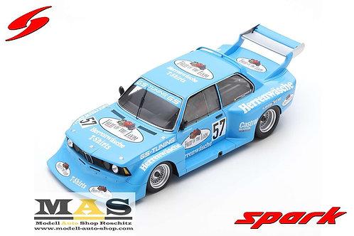 BMW 320 No.57 M. Hottinger Zolder 1978 Spark 1/18
