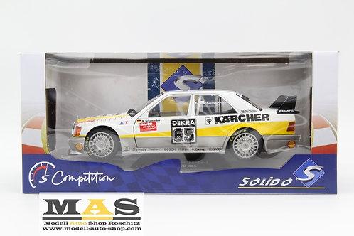 Mercedes Benz 190e EVO 2 No. 65 M. Schumacher DTM 1990 Solido 1/18