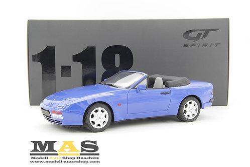 Porsche 944 Turbo S2 blau Cabrio GT Spirit 1/18