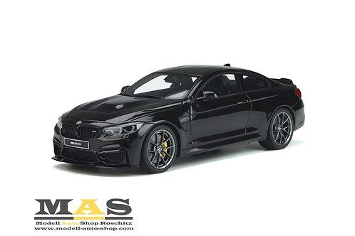 BMW M4 CS F82 Coupe 2017 schwarz GT Spirit 1/18