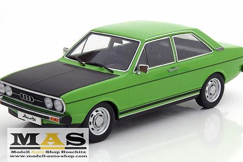 Audi 80 GTE 1975 grün schwarz KK-Scale 1/18