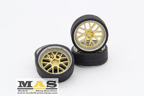 BBS LM-R 20 Zoll gold chrom SD Felgen 1/18