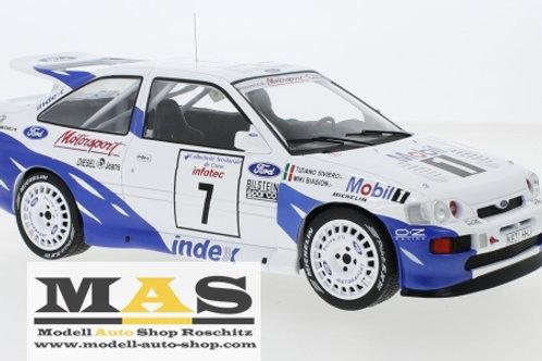 Ford Escort RS Cosworth Rallye WM Tour de Corse 93 Biasion, Siviero IXO 1/18