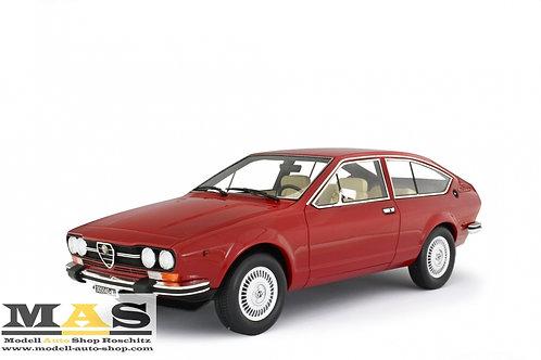 Alfa Romeo Alfetta GTV 2000 1976 rot Laudoracing 1/18