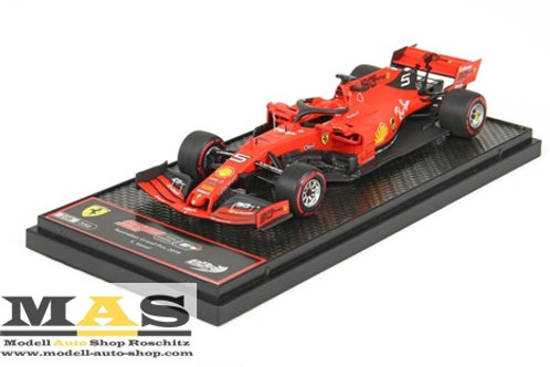 Ferrari SF90 2019 S. Vettel Australia GP BBR 1/43