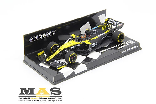 Renault RS20 E. Ocon Austria GP 2020 Minichamps 1/43