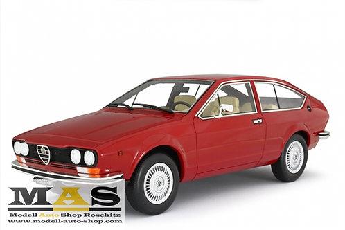 Alfa Romeo Alfetta GT 1.6 1976 rot Laudoracing 1/18