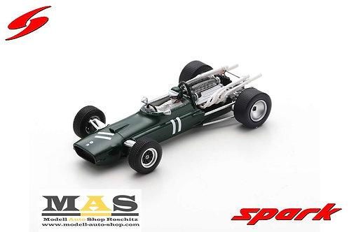 Cooper T86 No.11 British GP 1967 J. Rindt Spark 1/43