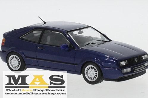 Volkswagen VW Corrado G60 metallic blue 1989 IXO 1/43
