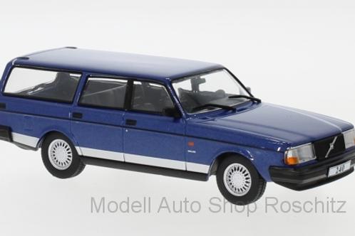 Volvo 240 Polar metallic blue 1988 IXO 1/43