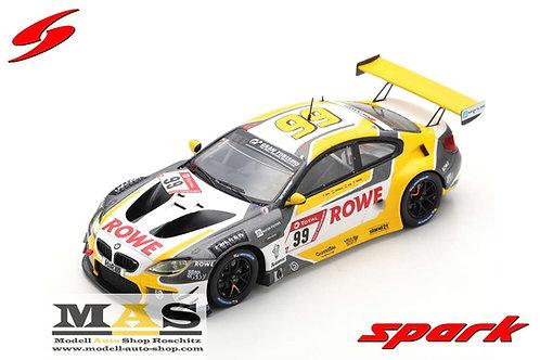 BMW M6 GT3 Rowe Racing No. 99 winner 24h Nürburgring 2020 Spark 1/43