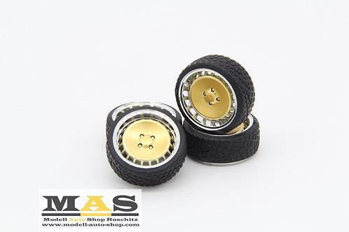 Ronal Turbo F10 15 Zoll SD Felgen 1/18 gold, silber, schwarz