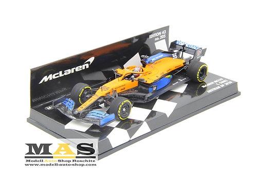 Mclaren MCL35 C. Sainz GP d'Austria 2020 Minichamps 1/43