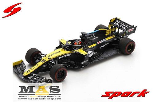 Renault RS20 E. Ocon Austria GP 2020 Spark 1/43