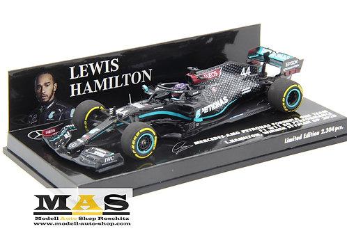 Mercedes AMG W11 L. Hamilton winner Steiermark GP 2020 Minichamps 1/43