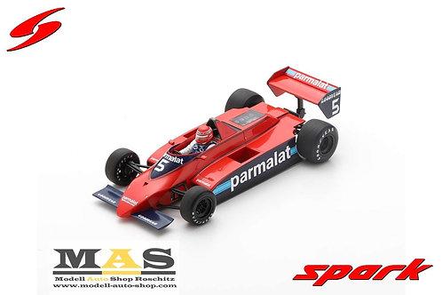 Brabham BT49 No. 5 N. Lauda Kanada GP 1979 Training Spark 1/18