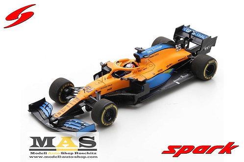 Mclaren MCL35 C. Sainz Austrian GP 2020 Spark 1/43