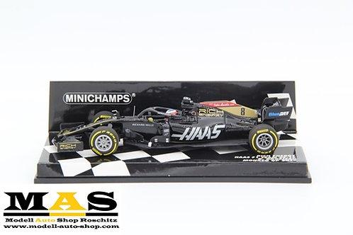 Haas VF-19 R. Grosjean Monaco GP 2019 Minichamps 1/43
