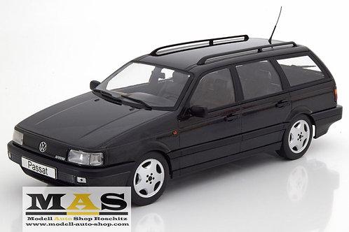 VW Passat (B3) Variant VR6 schwarz 1988 KK-Scale 1/18