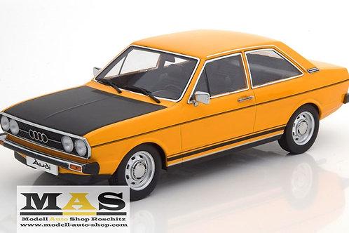 Audi 80 GTE 1975 yellow black KK-Scale 1/18