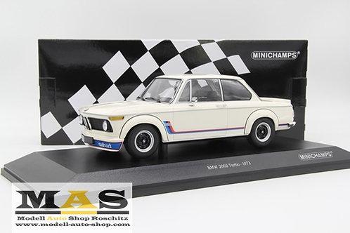 BMW 2002 Turbo weiss 1973 Minichamps 1/18