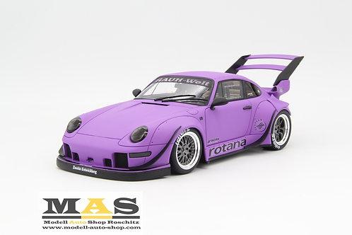 Porsche 911 993 RWB Rotana violett GT Spirit 1/18