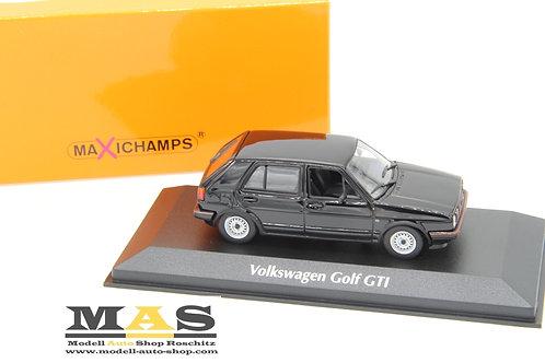 Volkswagen VW Golf 2 GTI 1986 schwarz Minichamps 1/43