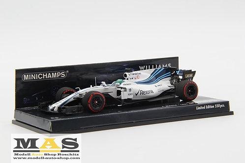 Williams FW40 F. Massa Last GP Abu Dhabi 2017 Minichamps 1/43