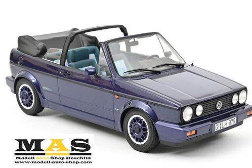 "VW Golf Cabriolet ""Coast"" 1991 Lila metallic Norev 1/18"