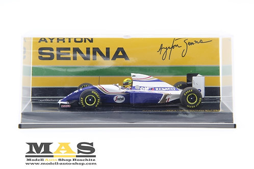 Williams FW16 A. Senna Brasilien GP 1994 Minichamps 1/43