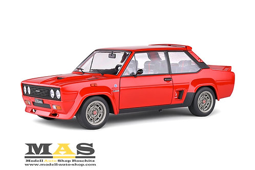 Fiat 131 Abarth 1980 red Solido 1/18