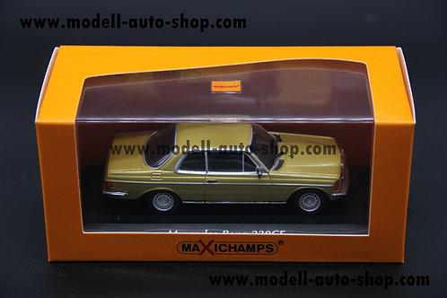 Mercedes Benz W123 230CE 1976 Gold Minichamps 1/43
