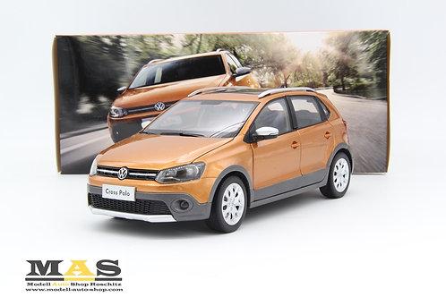 Volkswagen VW Cross Polo orange metallic Paudi Models 1/18