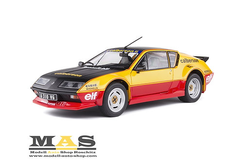Renault Alpine A310 Calberson Evocation 1983 orange Solido 1/18