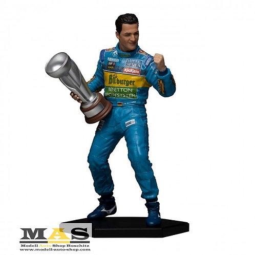 Michael Schumacher Figur F1 Weltmeister 1995 1/10